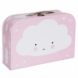 Maleta canastilla bebé nube de Little Lovely